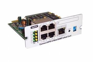 ConnectUPS-X Web/SNMP/xHub card